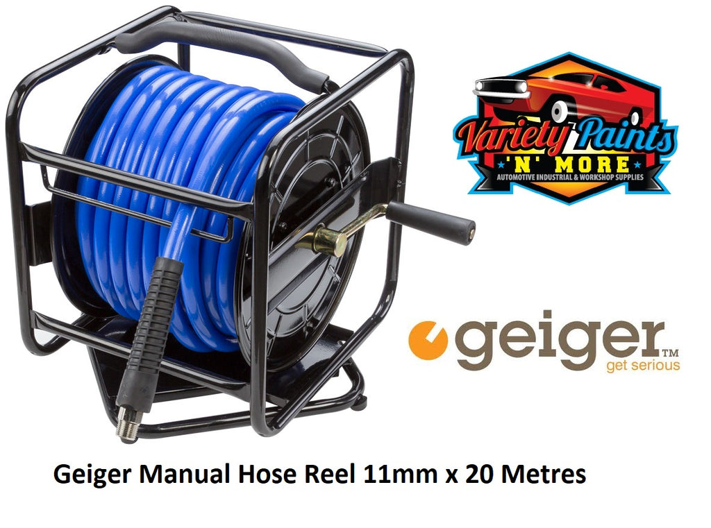 Geiger Manual Hose Reel 11mm x 20 Metres