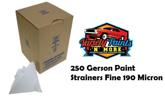GERSON Paint Strainers Fine 190 Micron BOX OF 250