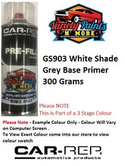 GS903 White Shade Grey Base Primer Basecoat 300 Grams