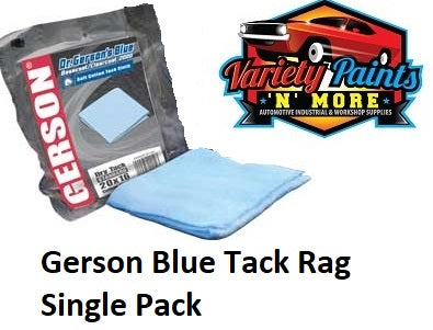 Gerson Tack Cloth Blue Basecoat / Clear Coat 2000 Dry