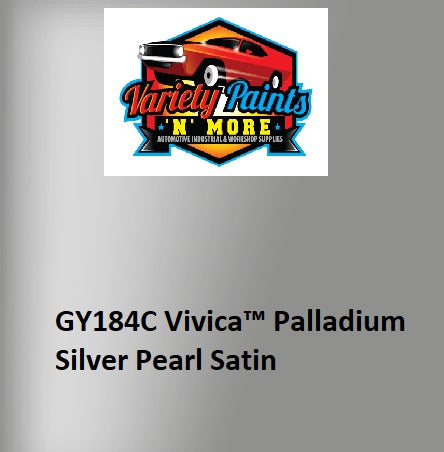 Variety Paints GY184C Vivica™ Palladium Silver Pearl Satin Powdercoat Spray Paint 300g