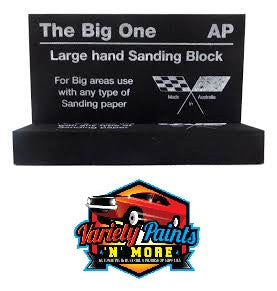 AP The Big One Rubber Large Hand Sanding Block