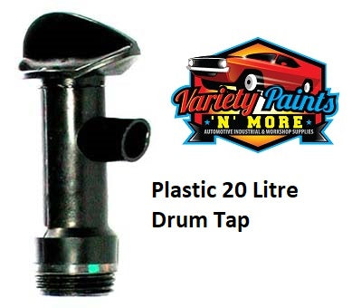 Velocity Plastic Drum Tap for 20 Litre Drums  Variety Paints N More