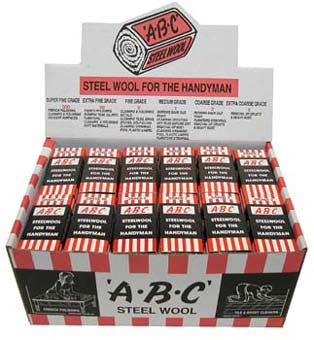ABC Single Steel Wool Grade: 2 Grade Variety Paints N More Wangara W.A