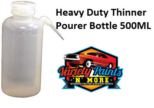 Heavy Duty Thinner Pourer Bottle 500ML