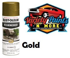 Rustoleum Hammered Finish Gold 340 Grams