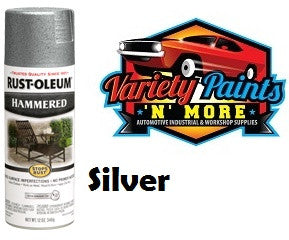 Rustoleum Hammered Finish Silver 340 Grams
