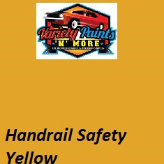 Variety Paints Handrail Safety Yellow Industrial Enamel Aerosol Paint