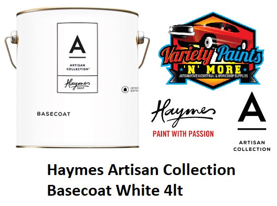 Haymes Artisan Collection Basecoat White 4lt