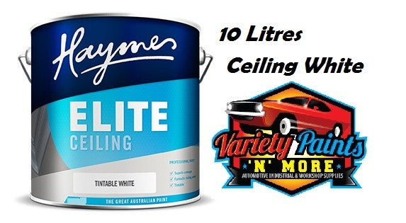 Haymes Elite Ceiling White 10 Litre