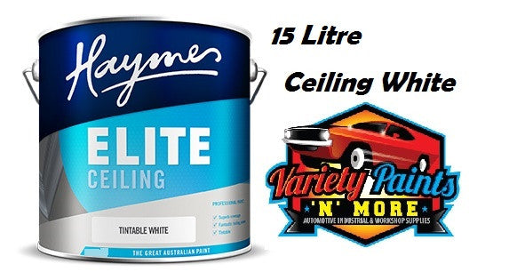 Haymes Elite Ceiling White 15 Litre
