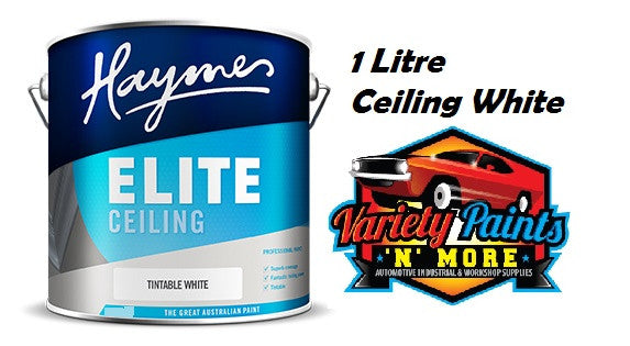Haymes Elite Ceiling White 1 Litre