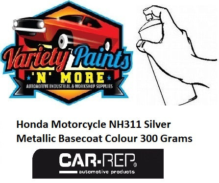 Honda Motorcycle NH311 Silver Metallic Basecoat Colour 300 Grams