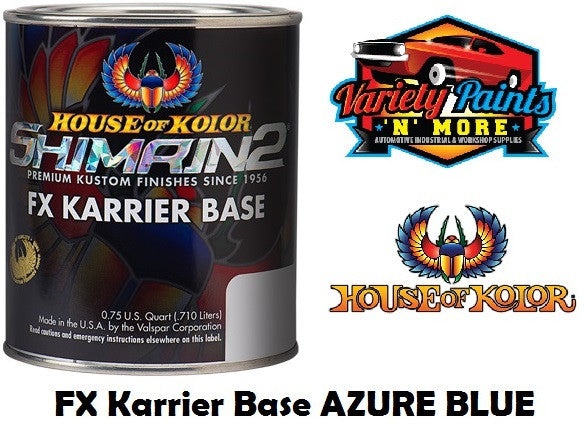 FX Karrier Basecoat Azure Blue S2-17 SHIMRIN2  House of Kolor  710ml