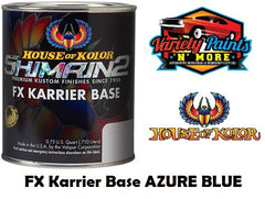 FX Karrier Basecoat Azure Blue S2-17 SHIMRIN2® House of Kolor® 710ml