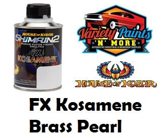 FX Kosamene Brass Pearl Shimron2  S2-FX21 238ml House of Kolor