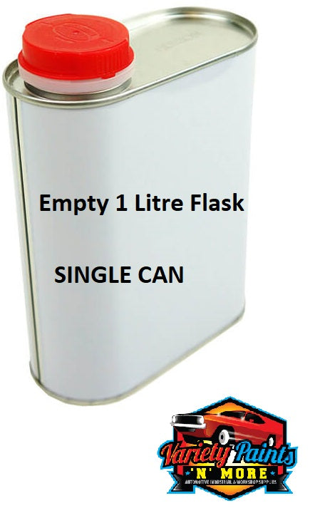 1LT Metal Flask Can Single