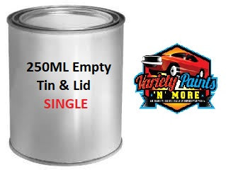 Empty 250ML Litre Tin & Lid VC250