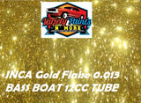 Variety Paints Metal Flakes Inca Gold 0.015 BASS BOAT 12cc Tube