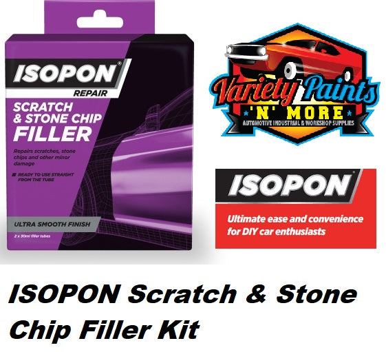 ISOPON Scratch & Stone Chip Filler Kit