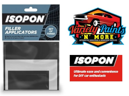 ISOPON Applictors Set of 3 Variety Paints N More