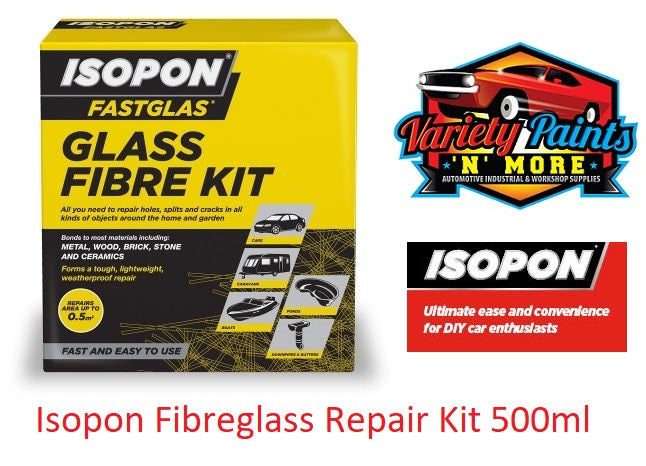Isopon Fibreglass Repair Kit 500ml