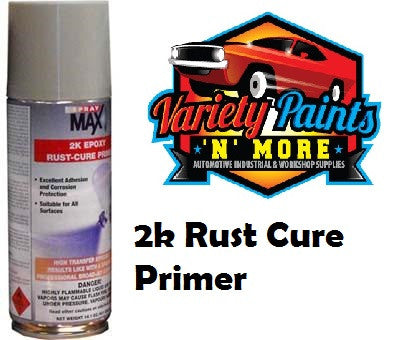 SprayMax 2K Epoxy Rust Cure Primer