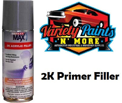 2K Primer Filler Medium Grey 300 Grams