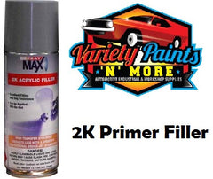 SprayMax 2K Acrylic Primer Filler Medium Grey