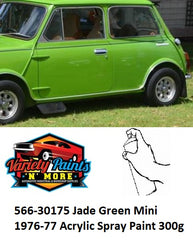 566-30175 Jade Green Mini 1974-76 Spray Paint 300g
