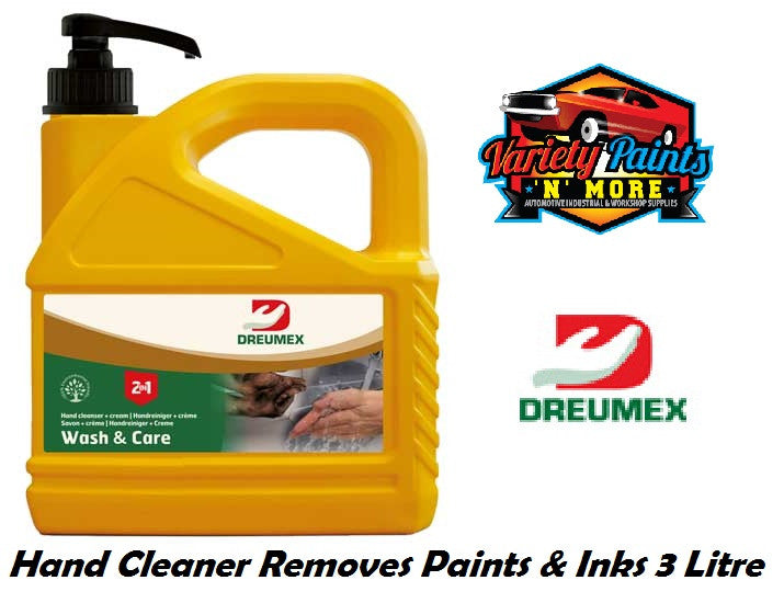Dreumex Expert Hand Cleaner 3 Litre Pump Pack