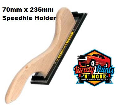 "11"" Hand Speed File- New Clips: 70mm x 235mm"