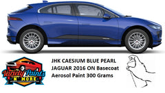 JHK CAESIUM BLUE PEARL JAGUAR 2016 ON Basecoat Aerosol Paint 300 Grams