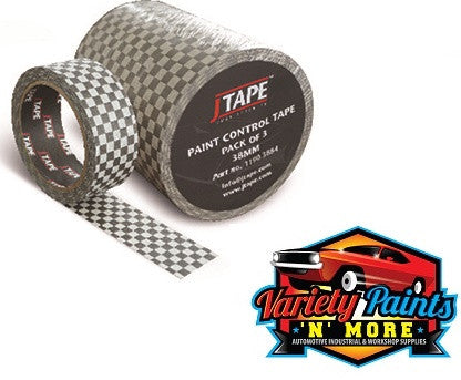 JTape Paint Control Tape 3 Pack 38mm