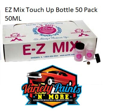 EZ Mix Touch Up Bottle 50 Pack