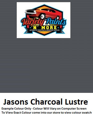 Variety Paints Jasons Charcoal Lustre Powdercoat Spray Paint 300g Variety paints