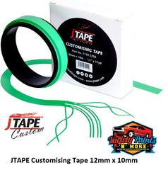 JTAPE Customising Tape 12mm x 10mm