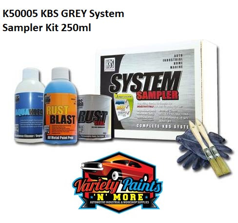 KBS GREY System Sampler Kit 250ml