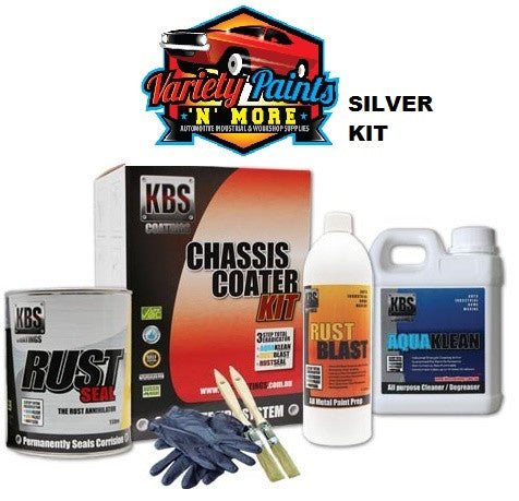 KBS Chassis Coater Kit Silver