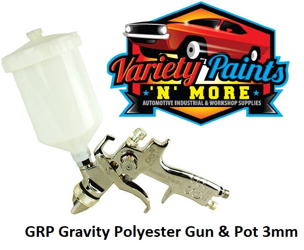 GRP Spray Gun Gravity for Polyester / Puttys 3.0mm