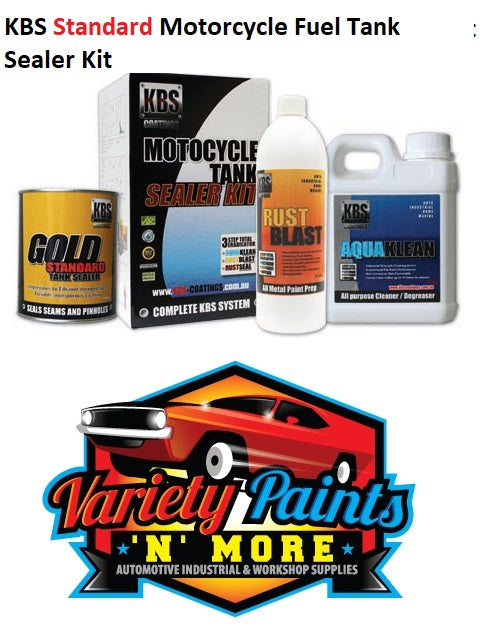 KBS Motorcycle Fuel Tank Sealer Kit 20 Litre Standard