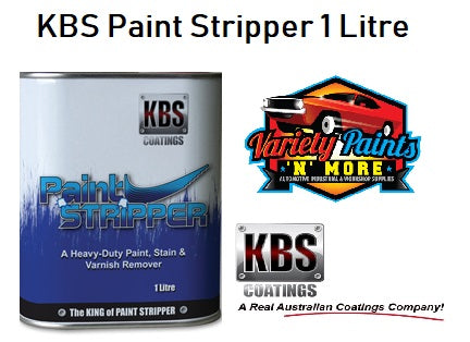 KBS Aircraft Grade Paint Stripper 1 Litre
