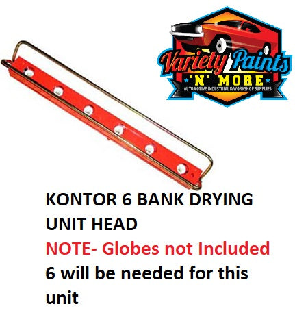 Kontor 6 Bank Drying Unit (Does not Include Globes)