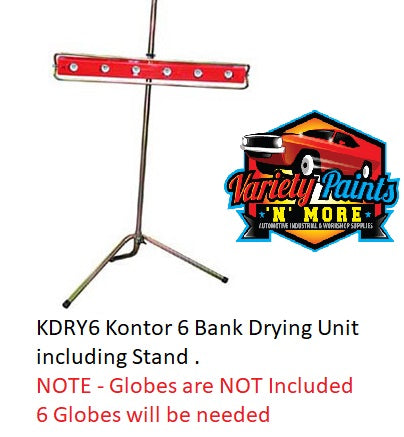 Kontor 6 Bank Drying Unit including Stand