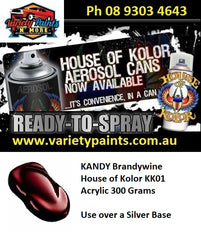 KANDY Acrylic KK01 Brandywine House of Kolor 300 Grams