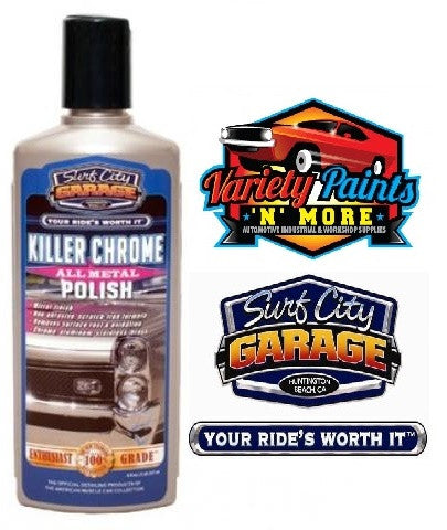Killer Chrome Perfect Polish 8oz Surf City Garage