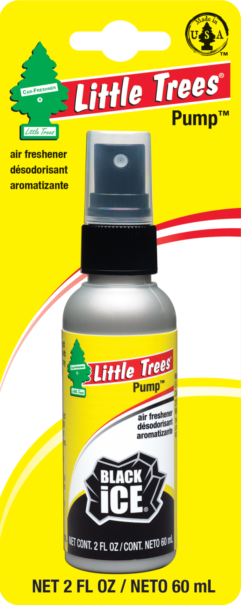 Little Tree Pump Spray Black Ice