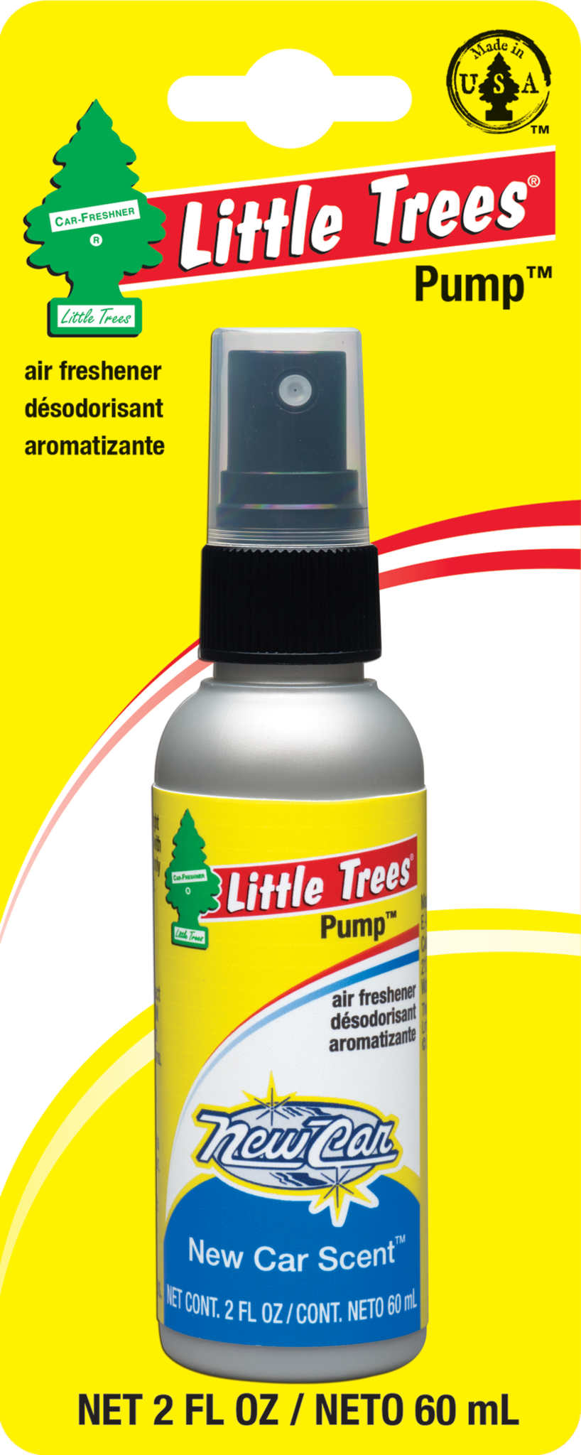 Little Tree Pump Spray New Car