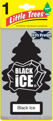 Big Tree Xtra Strength Black Ice Hanging Air freshener