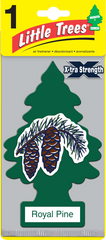 Big Tree Xtra Strength Royal Pine Hanging Air Freshener